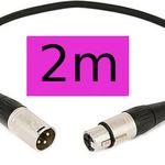 XLR Cable (2m) Purple