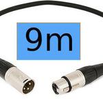 XLR Cable (9m) Blue