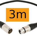 XLR Cable (3m) Orange